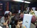 Первая поездка в автобусе с BTICK, Jury Kotoip, Американцами, Магдаленой из Франции и т.д.