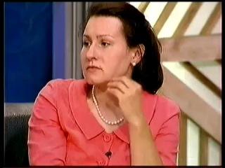 Ирина Дубцова в программе Андрея Малахова «Пусть Говорят» на Первом канале.