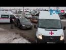 В Челябинске перекресток не поделили Focus и Hyundai: есть пострадавшие
