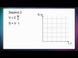 Физика. 7 класс. Урок 12. Расчёт пути и времени движения.