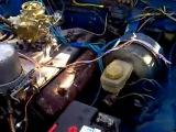 Пробный выезд Волги с двигателем ГАЗ 53
