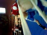 Мой бой по кикбоксингу.