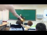 Ученики взрывают училку по алгебре