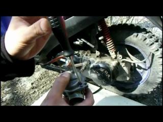 Карбюратор скутера - чистка, регулировка