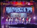 [PERF] SNSD - Honey, Ooh La-La!, & Girls' Generation (M-Net Golden Disk Awards /2007.12.14)