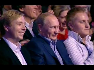 Пародия на Путина и Медведева. Сборная 21 века КВН 50