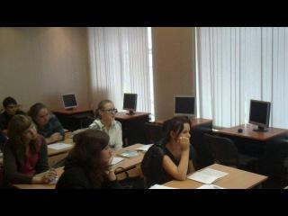 СПИГ. Занятия иностранным на 2 курсе