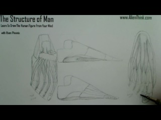 The Structure of Man learn to draw the human figure from your mind with Riven Phoenix 184