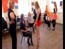 Видео с мастер-класса по приватному танцу - первый уровень