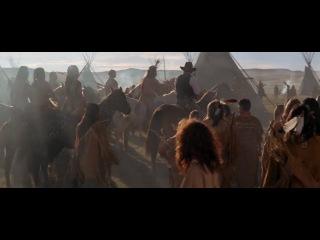 Dances With Wolves / Танцующий с волками (1990) исторический драматический фильм.Фильм был номинирован на Оскар в двенадцати категориях, семь из которых он выиграл. Премьера состоялась 19 октября 1990 года в Вашингтоне. Режиссёр и исполнитель главной роли Кевин Костнер работал над фильмом более пяти лет. В 1991 году отмечен двумя «Оскарами» — за лучшую режиссуру и за лучший фильм. Костнер является одним из шести режиссёров в истории мирового кинематографа, получивших эту награду за дебютный фильм.