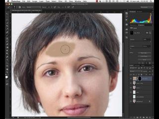 Photoshop CS6 - retusz skory (Retouch of skin)\\pkj