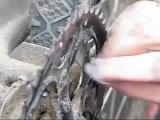 Очистка трансмиссии и смазка цепи 5