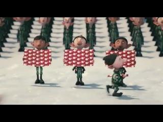 Секретная служба Санта-Клауса   Arthur Christmas (2011) (трейлер)
