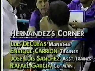 1992-04-10 Julio Cesar Chavez vs Angel Hernandez (WBC light welterweight title)