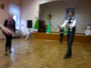 Репетиция новогоднего мюзикла