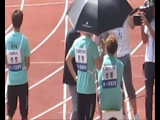 [All Fancam] 27.08.2011 Teen Top @ Idol sport Champianship (Part 2)