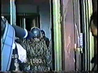 Арест Макашова, Руцкого, Хасбулатова. 4 октября 1993 г. Дом Советов
