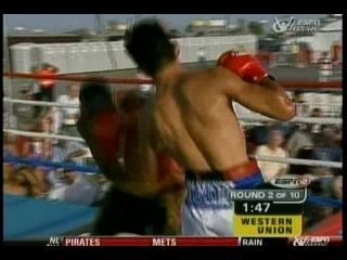 2000-06-16 Аntоniо Маrgаritо vs Dаvid Kаmаu (WВО NАВО Wеltеrwеight Тitlе)