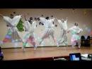 Танец МАЛЕНЬКИХ новогодних снежинок*