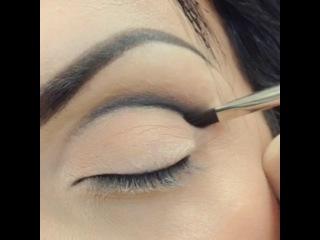 Работа Гоар Аветисян , вечерний макияж Эффект Бабочки