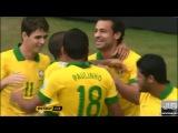 Потрясающий гол Неймара сборной Японии (Бразилия 3:0 Япония) [720p]