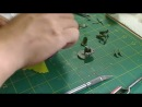Building a Corsair Tamiya 148 - Part 3b Using Photo Etch to Enhance Cockpit Details