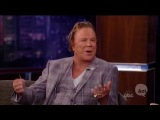 50 Cent Gave Mickey Rourke a Ride to 'Jimmy Kimmel Live'