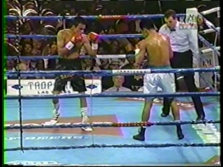 1998-08-22 Juаn Маnuеl Маrquеz vs Еnriquе Juрitеr (WВО NАВО Fеаthеrwеight Тitlе)