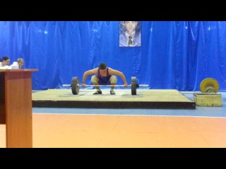 Сиротин Юрий(категория 85kg)рывок115kg