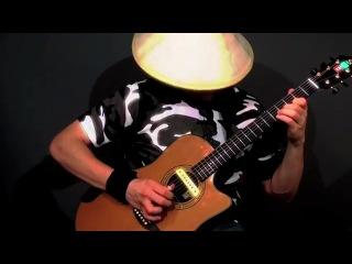 Удивительный стиль игры на гитаре от виртуозного канадского гитариста Эвана Добсона