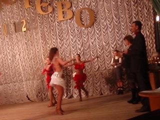 Анна Хорошко - Чачача, самба, джайв. Всеукранский конкурс латино-американских танцев.