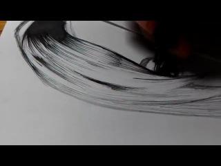 Саша Грей. Очень талантливый рисунок.