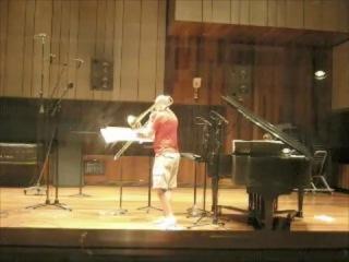Randy Hawes, Bass Trombone, Kathryn Goodson, Piano: Fauré's Fleur Jetée
