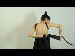 видео-урок греческое платье без выкройки