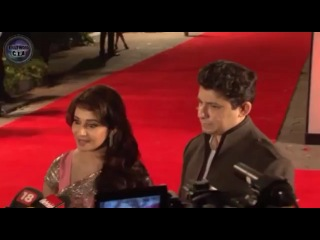 Madhuri Dixit and Shriram Nene at Jab Tak Hai Jaan Premiere