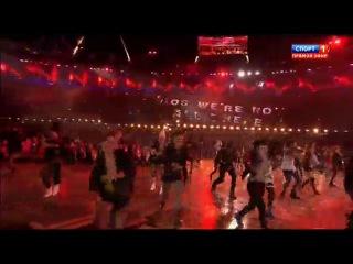 Открытие летних олимпийских игр в Лондоне.Танец панков-пого под Sex Pi-