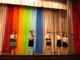 выступление ансамбля народной песни