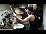 Through the Fire and Flames drum cover - Dragonforce