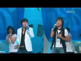 [PERF] SNSD (Tiffany & SooYoung) feat The Blue  - Feeling Only You (MBC Music Core / 2009.05.16)