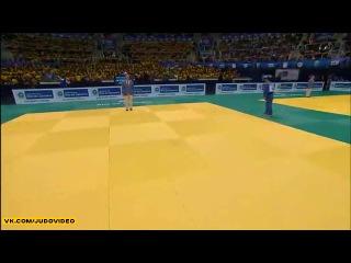 2013 World Championships Rio (-73kg Repechage) YKYBAYEV Dastan (KAZ) - NAKAYA Riki (JPN)