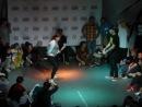 Мария Барышникова в хип-хоп баттле на UpGrade Battle