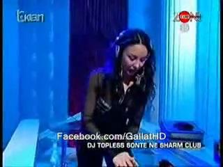 Katjusha dj.topless-na kosovskoj televiziji ZONE!