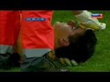 Удаление Криштиану Роналду в финальном матче на Кубок Испании 2012-2013