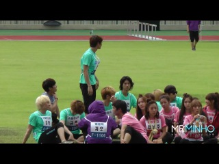 [MrMinho] 110827 Precious Minho moments @ MBC 3rd Idol Star Athletics Championships