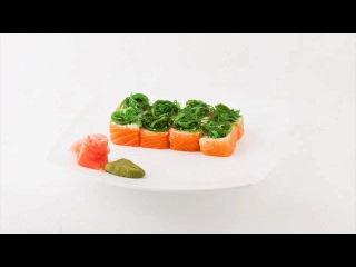 Рекламная съемка для ресторана японской кухни за одну минуту