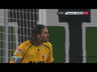 Сон Хен Мин видео гол. Аугсбург - Гамбург. Чемпионат Германии по футболу 9 тур. Footballer.name