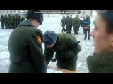 «Присяга у сынули» под музыку скоро я ухожу в армию  -  Служу России. Picrolla