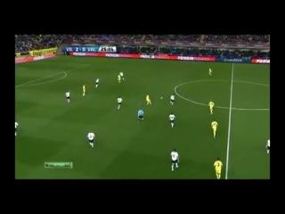 Игра в пас от Вильярреала против Валенсии