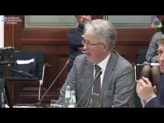 Профессор МГИМО В. Касатонов: Россия - в одном метре от войны