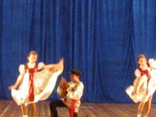 Русский Танец НА отчётный Концертсо Мной С Женей Баренцевой и Софой Громовой